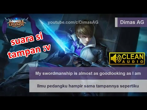 Gusion Voice & Quote (Beserta Artinya) | Mobile Legends