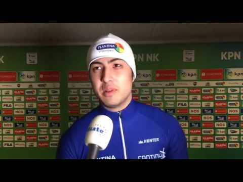 Kai Verbij knalt naar 1.08,22 en goud bij KPN NK afstanden