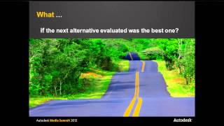 Civil Infrastructure Session, Autodesk Media Summit, March 2012