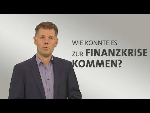 Wie kam es zur Finanzkrise?
