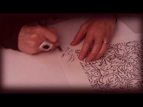 'Ivresse Tendresse' : Poème calligramme de Nicole Coppey