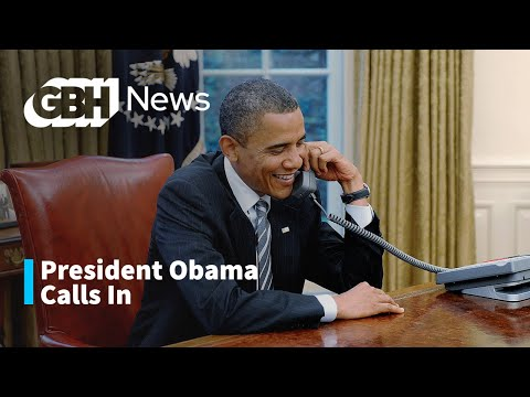 calls - The president called in to wish outgoing Gov. Deval Patrick well.