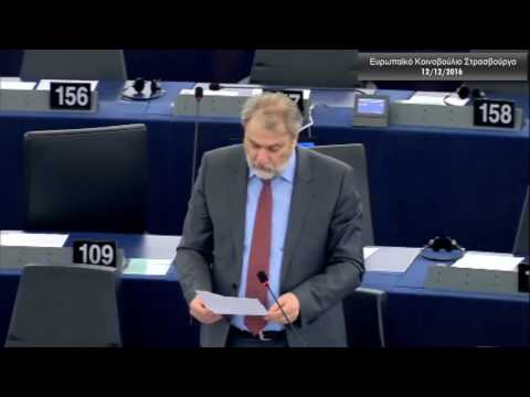 Ο Νότης Μαριάς καταγγέλλει στην Ευρωβουλή την παράνομη και άναρχη αλιεία στον ΒΑ Ατλαντικό
