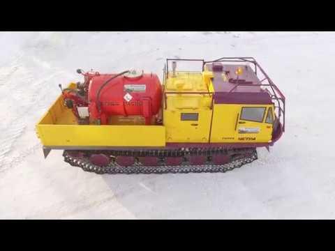 ЧЕТРА представила вездеход для нефтегазовой промышленности