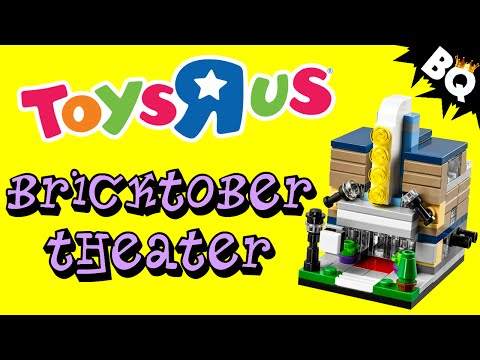 LEGO Bricktober Theater 40180 Exclusive Toys R Us Review