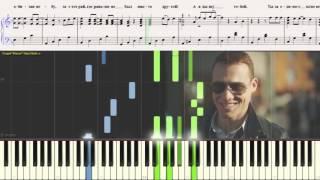 Дышу тобой - Д. Джокер (Ноты для фортепиано) (piano cover)