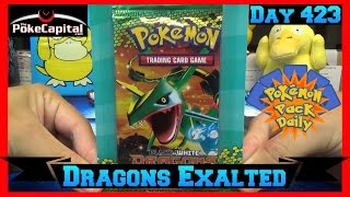 Pokemon Pack Daily DRAGONS EXALTED Booster Opening Day 423 - Featuring ThePokeCapital by ThePokeCapital