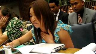 Khmer Documentary - 8th Session of the UNPFII 2009, last speech by kkfyc for this year.