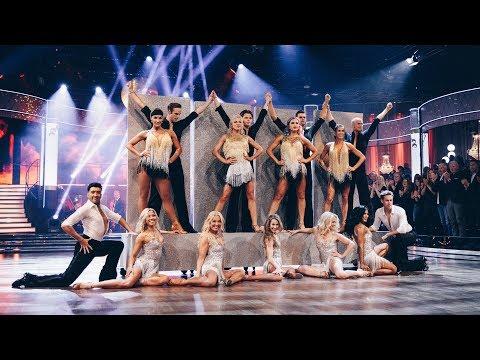 Stjärnorna & proffsdansarna öppnar kvartsfinalen i Let's dance 2019!