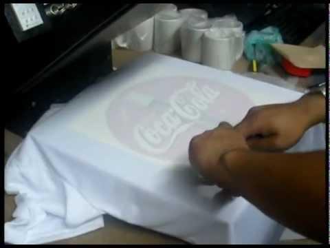 Camisetas para sublimación. 100% Poliéster