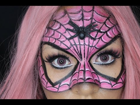 Download Video Tutorial de maquillaje Halloween: Spider Woman - Juancarlos960