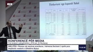 RTK3 Drejtpërdrejt - Konferncë për media 19.07.2019