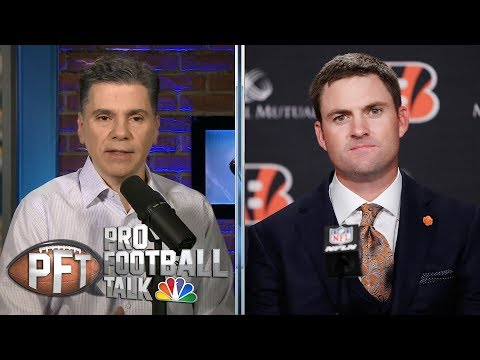 Video: New Bengals coach Zac Taylor details plan for team, Andy Dalton | Pro Football Talk | NBC Sports