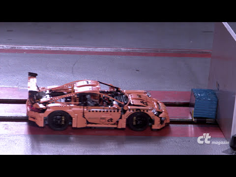 LEGO Porsche Set Gets Crash Tested Like A Real