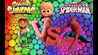 Subway Surfers vs Spider Man Unilimit - Best Game For Kids