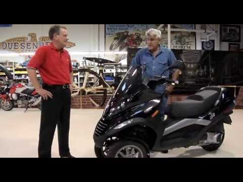 Jay leno - Check out this innovative three-wheel scooter that handles like a motorcycle. Subscribe NOW to Jay Leno's Garage: http://full.sc/JD4OF8 Check out the Officia...