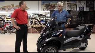 10. Piaggio MP3 250 - Jay Leno's Garage