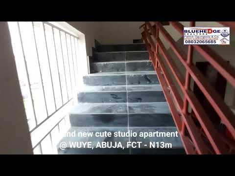 Brand new cute studio apartment located at WUYE, ABUJA, FCT.