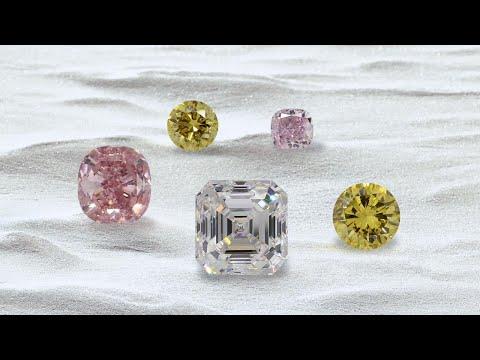 A Spectacle of Color in Diamonds Online