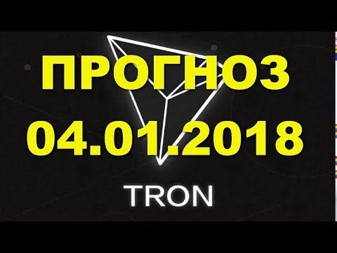 TRX/USD — TRON прогноз цены / график цены на 4.01.2018 / 4 января 2018 года
