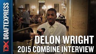 Delon Wright 2015 NBA Draft Combine Interview