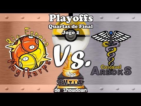 Playoffs LSS 2008 - Rio Espera Magikarps vs. Cascavel Arboks (QF1J2)