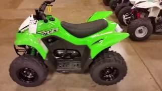 6. KAWASAKI KFX90 2017 KIDS ATV ROMNEY CYCLE CENTER