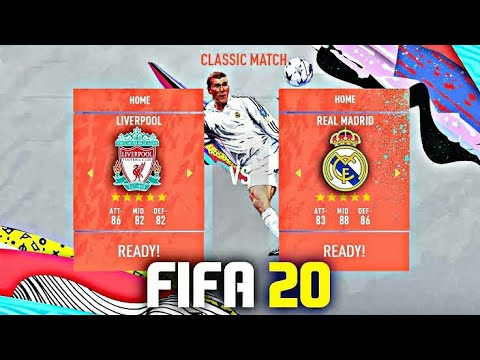 FIFA 20 DEMO GAMEPLAY REVIEW! FULL GAME REAL MADRID VS LIVERPOOL