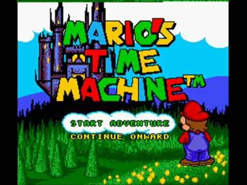Mario's Time Machine Super Nintendo