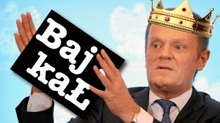 Lisek chytrusek! Czyli bajka o Tusku, królu Europy!