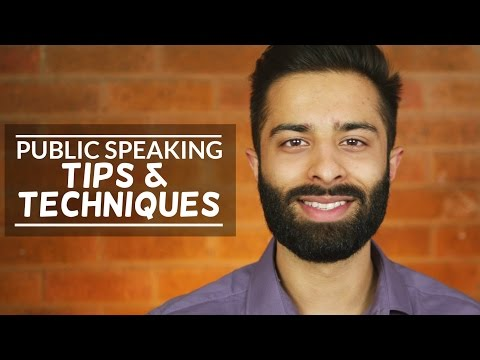 Public Speaking Tips & Techniques To Blow Away Any Audience