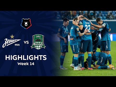 Highlights Zenit vs FC Krasnodar (3-1) | RPL 2020/21