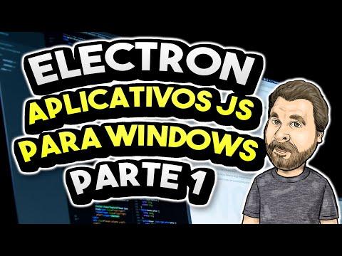Electron - Aprenda a Criar Aplicativos para Windows
