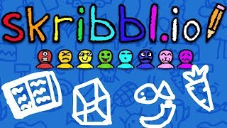 THE FUNNIEST THING EVER... WE CAN'T STOP LAUGHING.. - DRAW MY THING SKRIBBL.IO