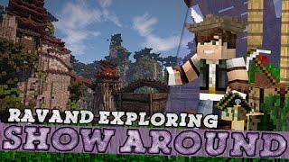 Show-Around | EXPLORING PLOTS | Ravand Server!
