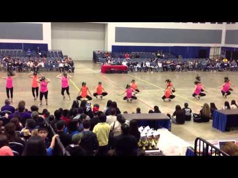 Robert Vela High School Sapphires Hip Hop Dance Team at ADTS 2013