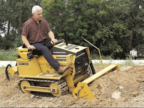 Struck - Magnatrac - Rs1000 - Compact Crawler Tractor