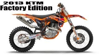 3. 2013 KTM Factory Edition 450 SX-F