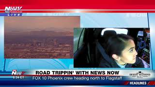 ROAD TRIPPIN' WITH NEWS NOW: Part 2 of FOX 10 Phoenix crew trip to Flagstaff (FNN)