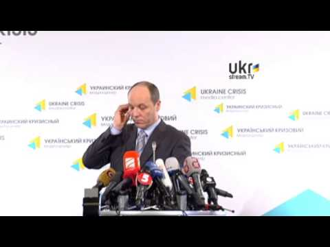 Andriy Parubiy. Ukraine Crisis Media Center. March 12, 2014 (Original)