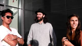 Interview with Dougy Mandagi and Toby Dundas from Temper Trap