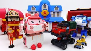 Video Transforming Ambulance Amber Transforming Base & Robocar Poli Parking Tower Playset MP3, 3GP, MP4, WEBM, AVI, FLV Juli 2018