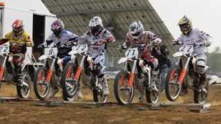 First ever ELECTRIC-MX race at ZOLDER
