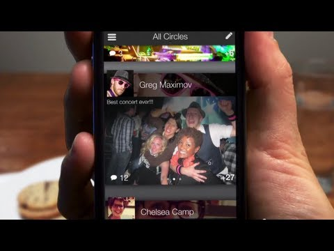 Image of New Google+ for iPhone promo video