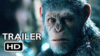 War for the Planet of the Apes Official Trailer #3 (2017) Action Movie HD