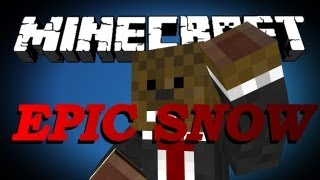 Minecraft THE EPIC SNOW HUNT Adventure Map w/ Jerome