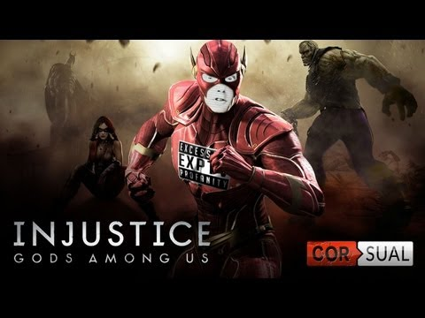 Corsual Let's Play: Injustice with EXP!