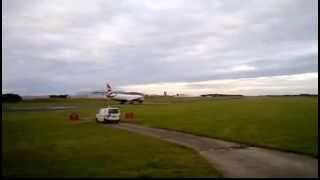 Download Lagu BA 777 Taking Off From Cambridge, Includes Full ATC Mp3