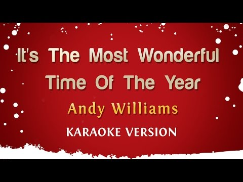 Video Andy Williams - It's The Most Wonderful Time Of The Year (Karaoke Version) download in MP3, 3GP, MP4, WEBM, AVI, FLV January 2017