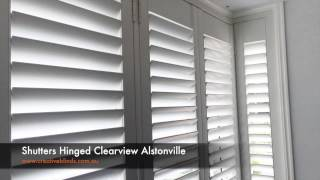 Plantation Shutters Hinged Clearview Alstonville